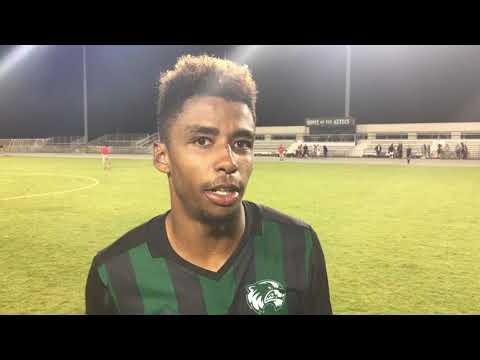 Utah Valley University Men's Soccer post match wrap up at San Diego State (Sept. 10, 2017)