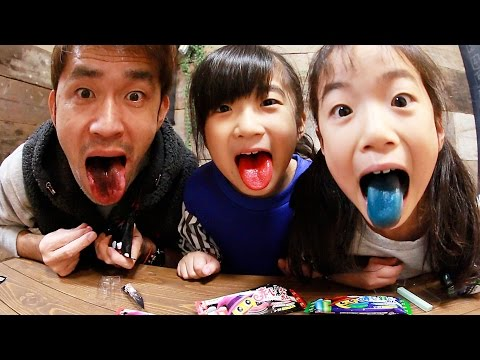 赤べー黒べー青ベー緑べーとバイオハザードタブレットで遊びました