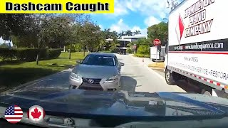 Ultimate North American Cars Driving Fails Compilation - 289 [Dash Cam Caught Video]