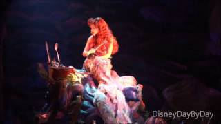 Repeat youtube video Hollywood Studios Voyage of the Little Mermaid - Watch with Us