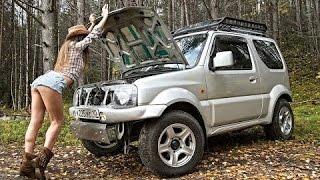 Suzuki Jimny настояший внедорожник с богатырским характером!