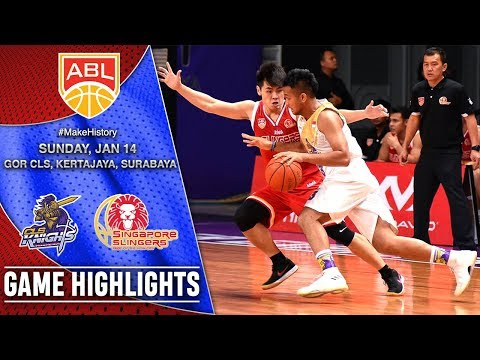 CLS Knights Indonesia vs Singapore Slingers | HIGHLIGHTS | 2017-2018 ASEAN Basketball League