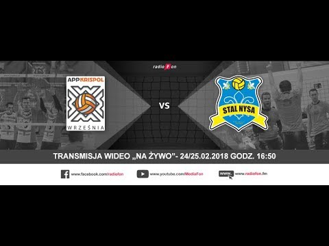 Krispol Września - Stal Nysa, mecz nr 1 fazy play-off // 24.02.2018