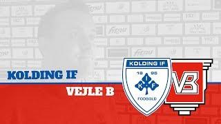 Optakt: Kolding IF - Vejle B | Kolding IF Fodbold