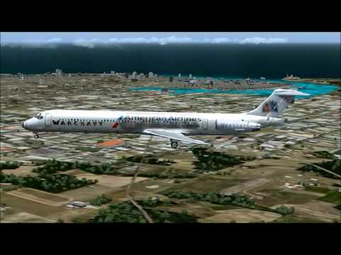 MD-83 AMERICAN AIRLINES MIAMI-HAVANA