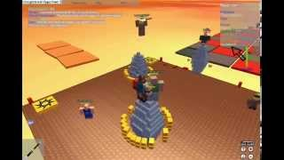 1X1X1X1 visiting a Roblox level. (With Robloxmon and Troywwe)