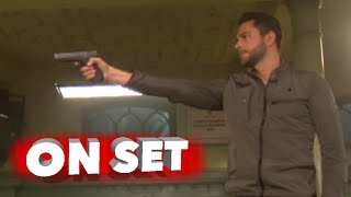 Heroes: Reborn: Behind the Scenes of the Pilot Episode - Zachary Levi
