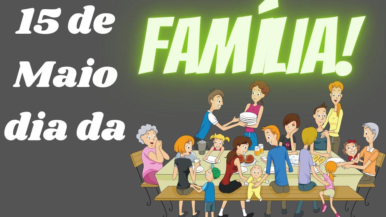 Dia da Família com vídeo aula + Atividade.
