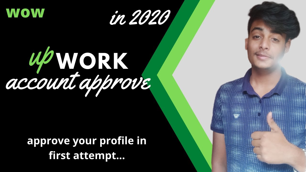 Work from home | how to approve you upwork profile id in hindi | best freelance website in hindi