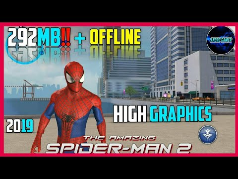 The Amazing Spider Man 2 V1.2.7d Highly Compressed (APK+OBB) For Android [292 MB] 2019 HD Graphics