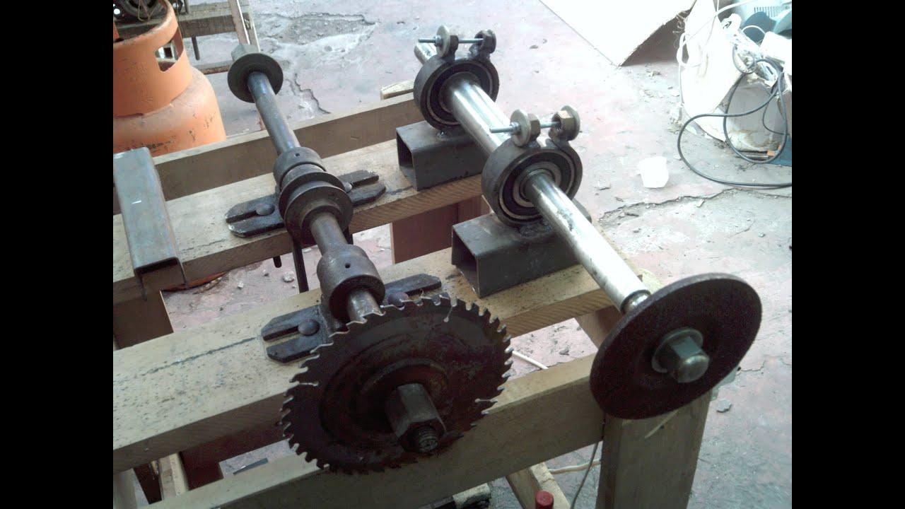 Tutorial como fabricar una sierra de banco casera parte1 - Sierra de banco ...