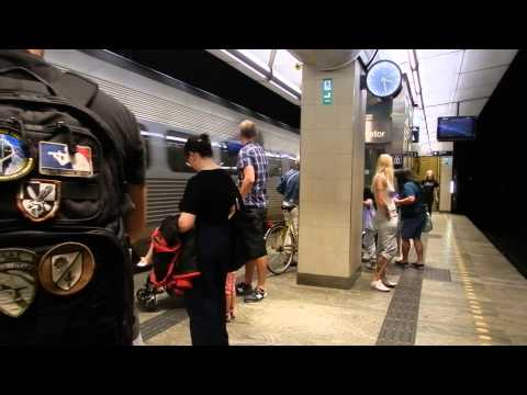Copenhagen - Public Transport - Nørreport Station Tour 2015 08 01