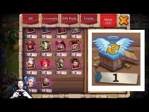 40k Gems Awesome Session Clutch Lvl 5 Talent BOX! Castle Clash