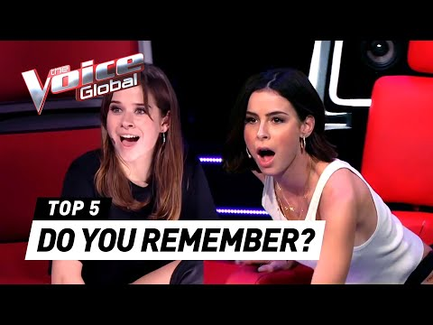UNFORGETTABLE BLIND AUDITIONS