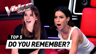 UNFORGETTABLE BLIND AUDITIONS in The Voice Kids