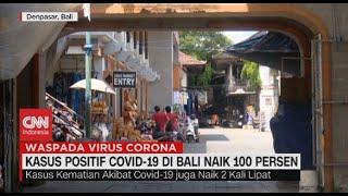 Kasus Positif Covid-19 di Bali Naik 100%