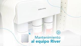 Mantenimiento del Purificador de Agua River - Coway Dominicana