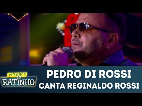 Pedro Di Rossi Canta Reginaldo Rossi | Programa Do Ratinho (18/06/2018)