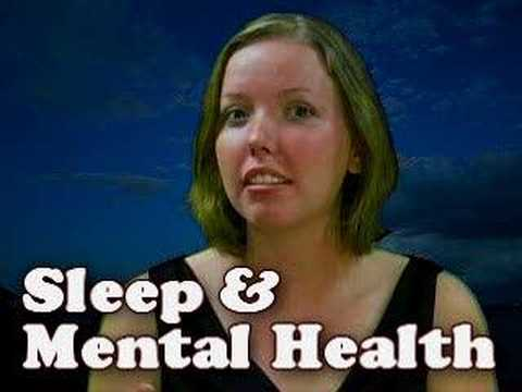 Sleep & Your Mental Health - Psychology with Sandy