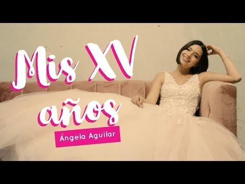 Angela Aguilar - Mi Vlog #02 - Mis XV Años