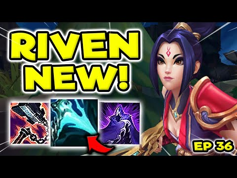 HOW BROKEN IS RIVEN WITH NEW BUILD? (ER+EON) - S11 RIVEN TOP GAMEPLAY! (Season 11 Riven Guide) #36