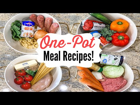 5 ONE-POT RECIPES | Outstanding One-Pan Summer Meals | Julia Pacheco