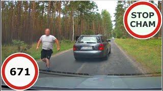 Stop Cham #671 - Niebezpieczne i chamskie sytuacje na drogach