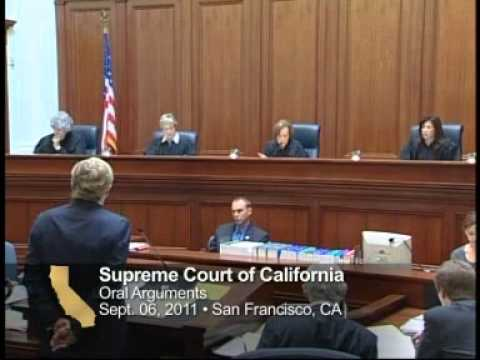 California Supreme Court: Proposition 8 Oral Arguments on Same Sex Marriage 9/6/2011