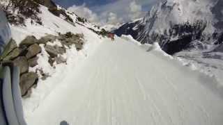 Talabfahrt Hintertuxer Gletscher [HD]