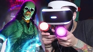 HORROR COASTER - UNTIL DAWN RUSH OF BLOOD ( Playstation VR )