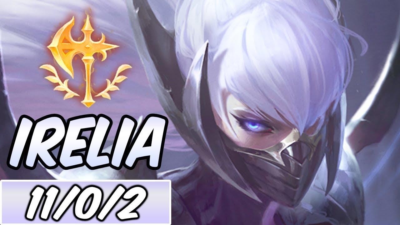 IRELIA MID | New Build & Runes | Diamond Nightblade Irelia ...  IRELIA MID | Ne...