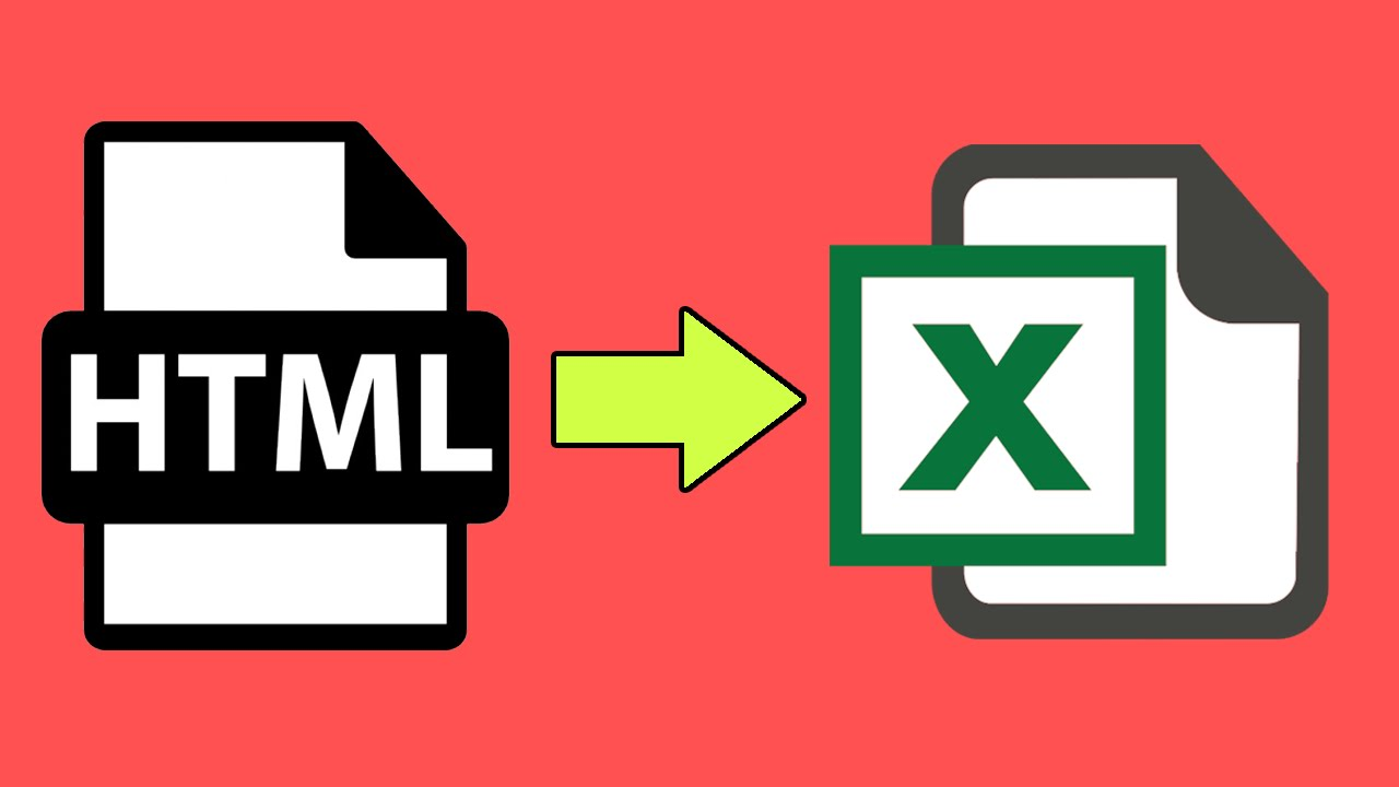 How to export HTML table to Excel