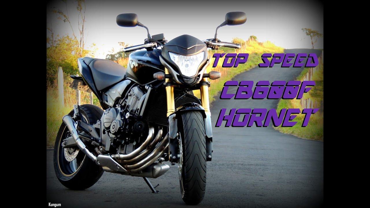 honda cb 600f hornet - top speed (hd) - youtube