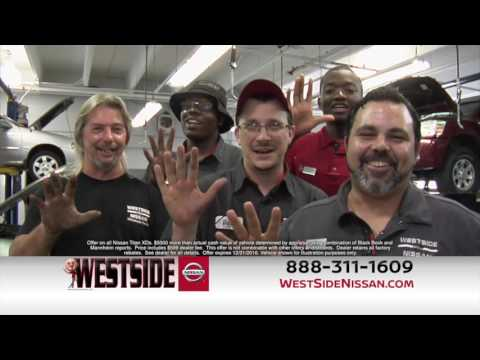 Westside Nissan Jacksonville FL 32210 | Up to $5000 more than your trade is worth