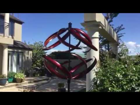 SASSY RED WIND SCULPTURE SPINNER JUST RELEASED STUNNING www ...