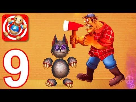 Kick the Buddy - Gameplay Walkthrough Part 9 - All Horror Weapons (iOS)