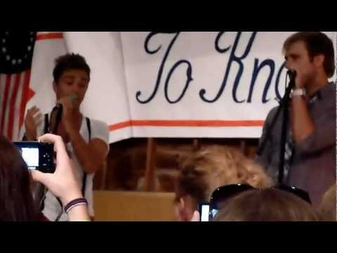 Anthem Lights - Just The Way You Are - Alton Bay, NH 6/30/12