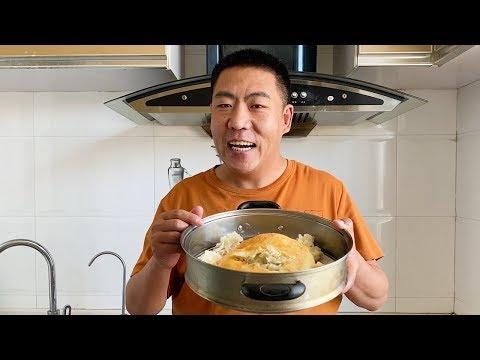 破解武汉最牛早餐,油饼包烧麦,店里卖9块钱一套,教你在家做,不用排队不限购,想吃就吃 【三丰美食】