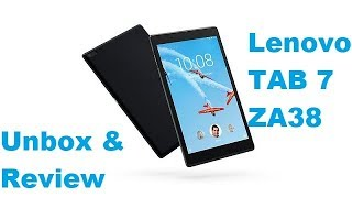 Lenovo TB-7504X ZA38 Wifi & 4G Unboxing and Review