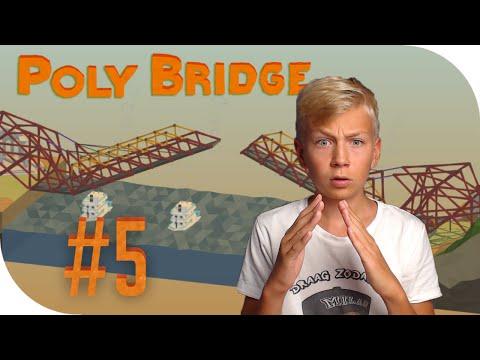 HELE GROTE OPHAALBRUG! - Poly Bridge #5