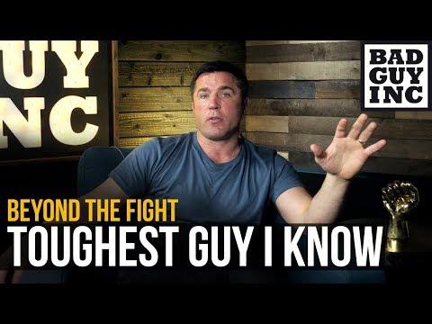 The toughest man I ever met...Chael Sonnen UFC Fighter