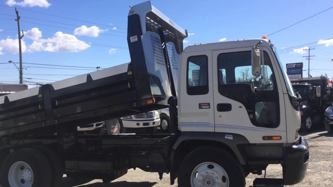 For Sale - 2008 GMC T6500 Landscape Dump Truck - YouTube