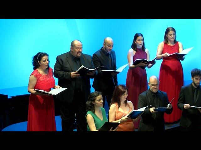 Sleep, E. Whitacre. Coro de la Universidad Carlos III de Madrid. Dir.: Nuria Fernández Herranz