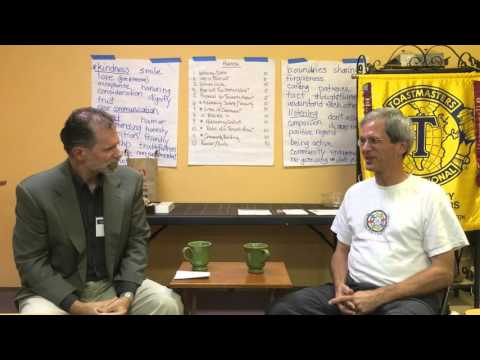 Toastmasters Communicating on Video: The Interview