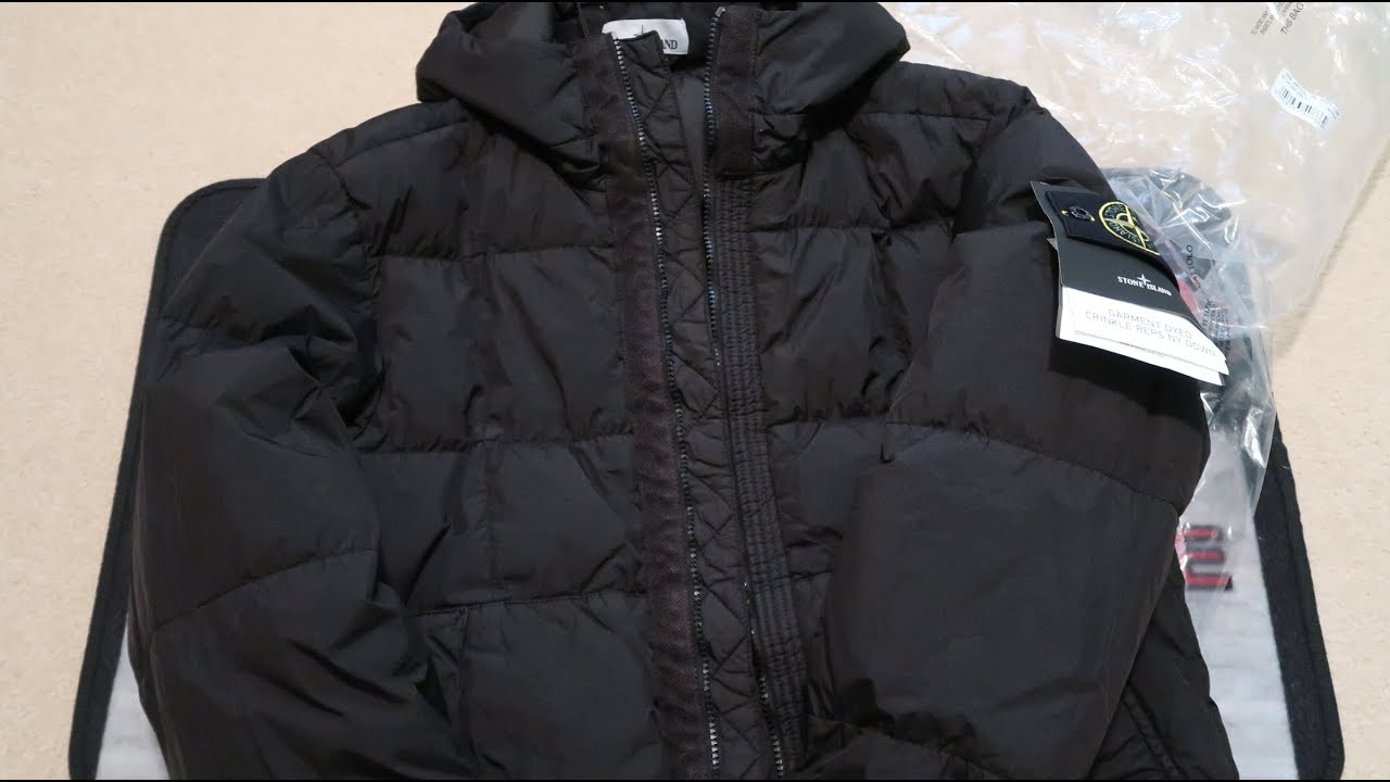 5cad0ae0c Stone Island Garment-Dyed Crinkle Reps NY Down Jacket Pickup/Unboxing