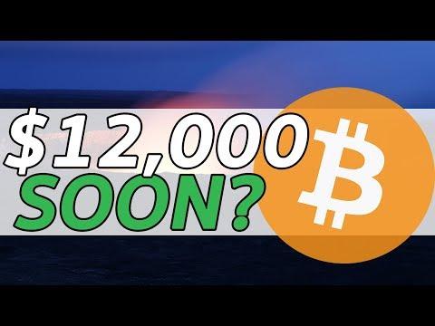 BITCOIN 12K SOON? BITCOIN KEEPS TRENDING UP! BTC PRICE UPDATE AND ANALYSIS