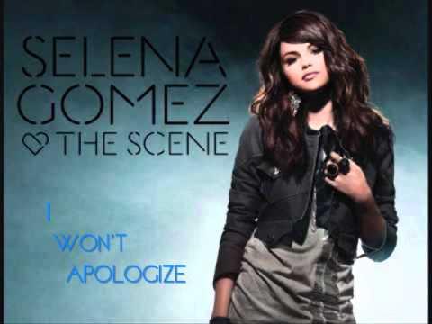 02 - Selena Gomez - I Won't Apologize