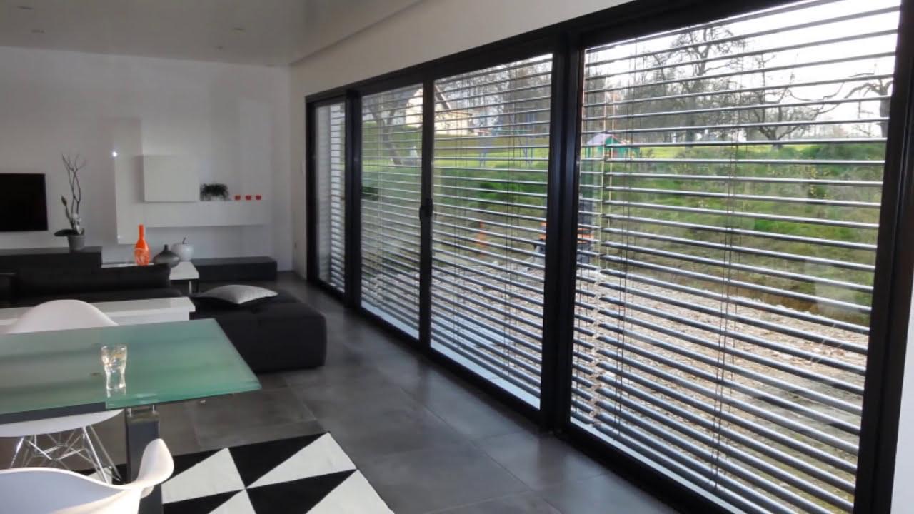 Nexthome Création - Maison d\'architecte design à toit-plat - YouTube