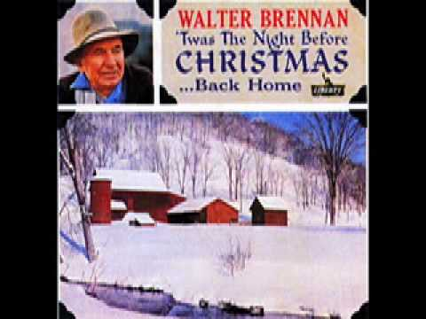 WALTER BRENNAN Just 3 Letters for Christmas