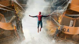 Человек-паук и Железный Человек спасают паром. Человек-паук. Возвращение домой.